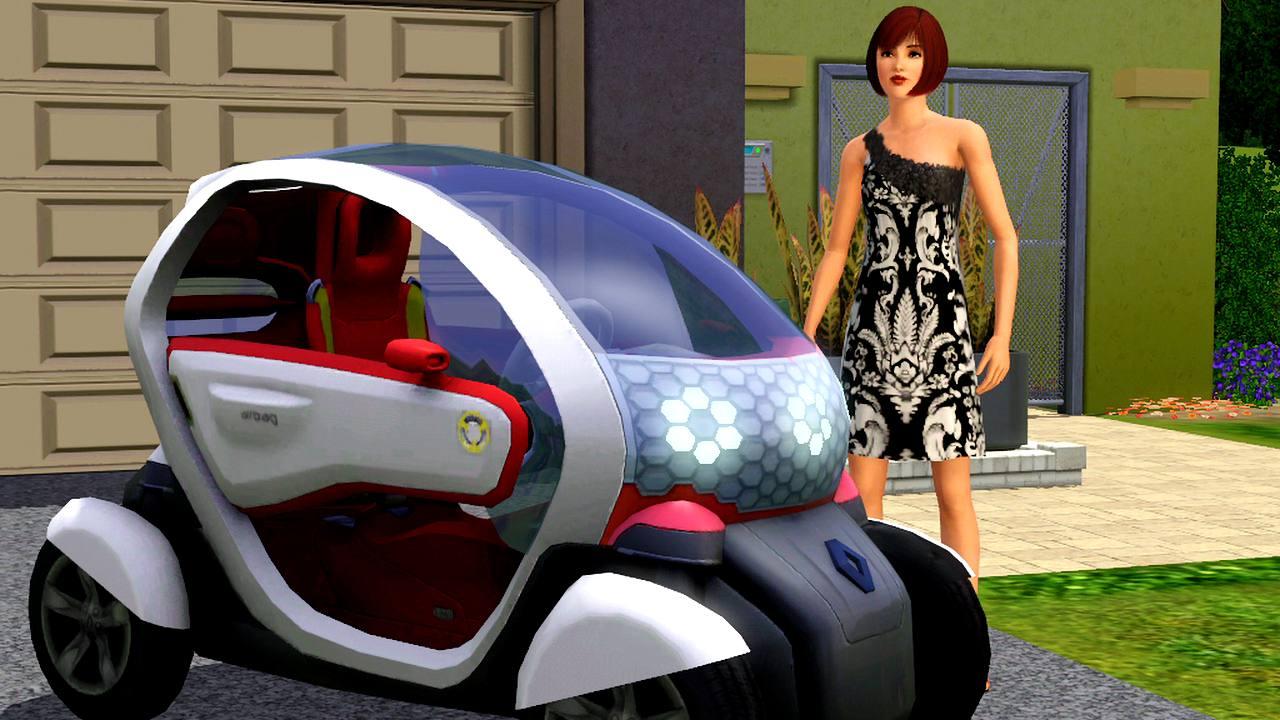 Coches el ctricos en el garaje de tus sims hobbyconsolas - Garaje de coches ...