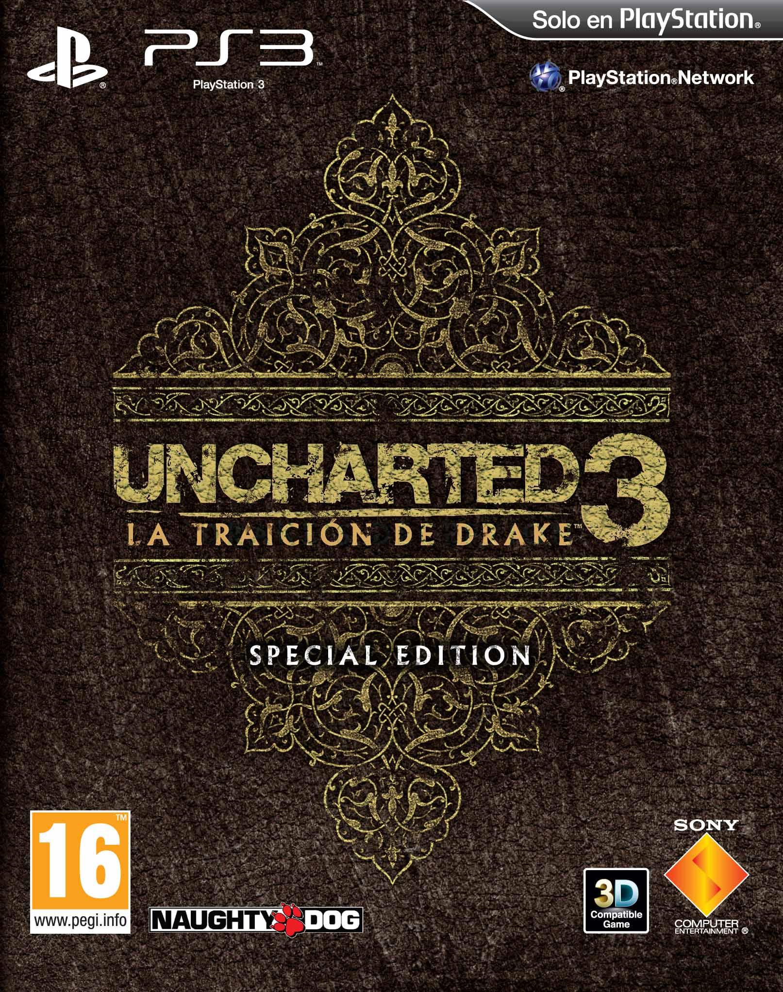 La edici n especial de uncharted 3 al detalle for Edicion 3d online