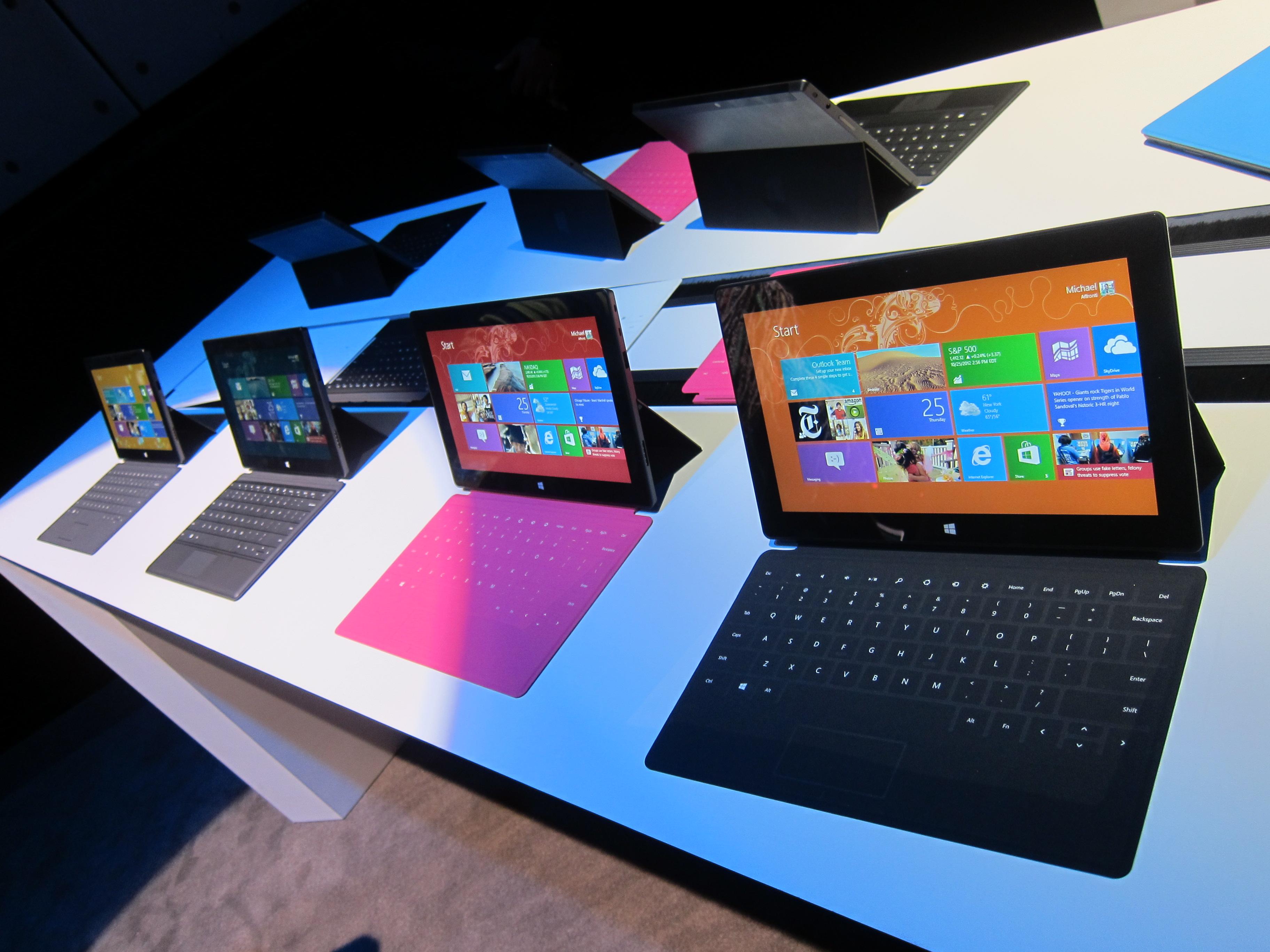 Surface rt el tablet de microsoft hobbyconsolas juegos - Surface vitree rt 2012 ...