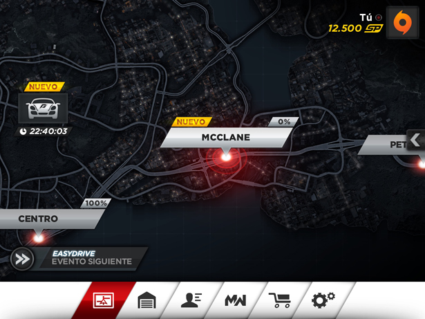 Need for speed most wanted en ios y android for Juego nfs most wanted