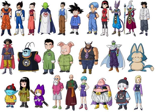 Personajes de Dragon B...
