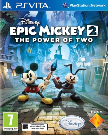 Epic Mickey 2 Tambien En Ps Vita Hobbyconsolas Juegos