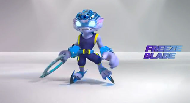 skylanders coloring pages freeze blade - photo#30