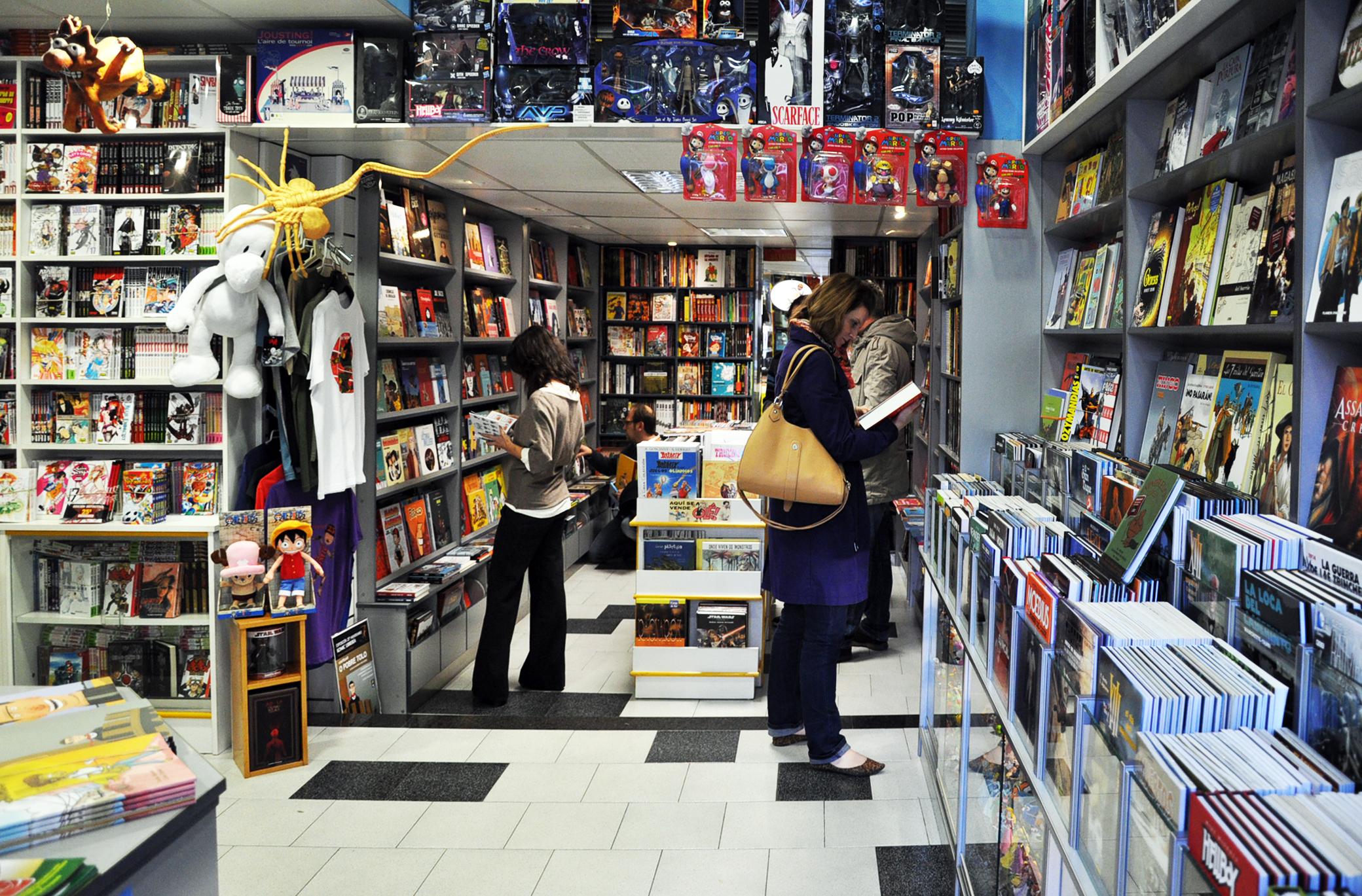 Tiendas con historia komic librer a hobbyconsolas entretenimiento - Libreria couceiro santiago ...