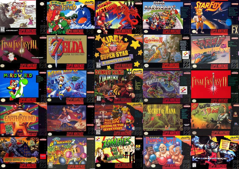 Las 10 Peores Caratulas De Super Nintendo Los 10 Peores De Los