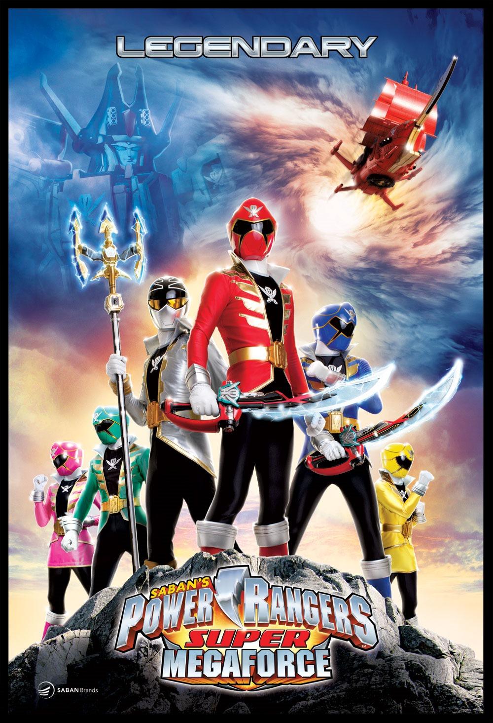 El juego de Power Rangers Super Megaforce en camino
