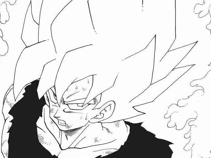 Resultado De Imagen Para Goku En Blanco Y Fondos De Pantalla