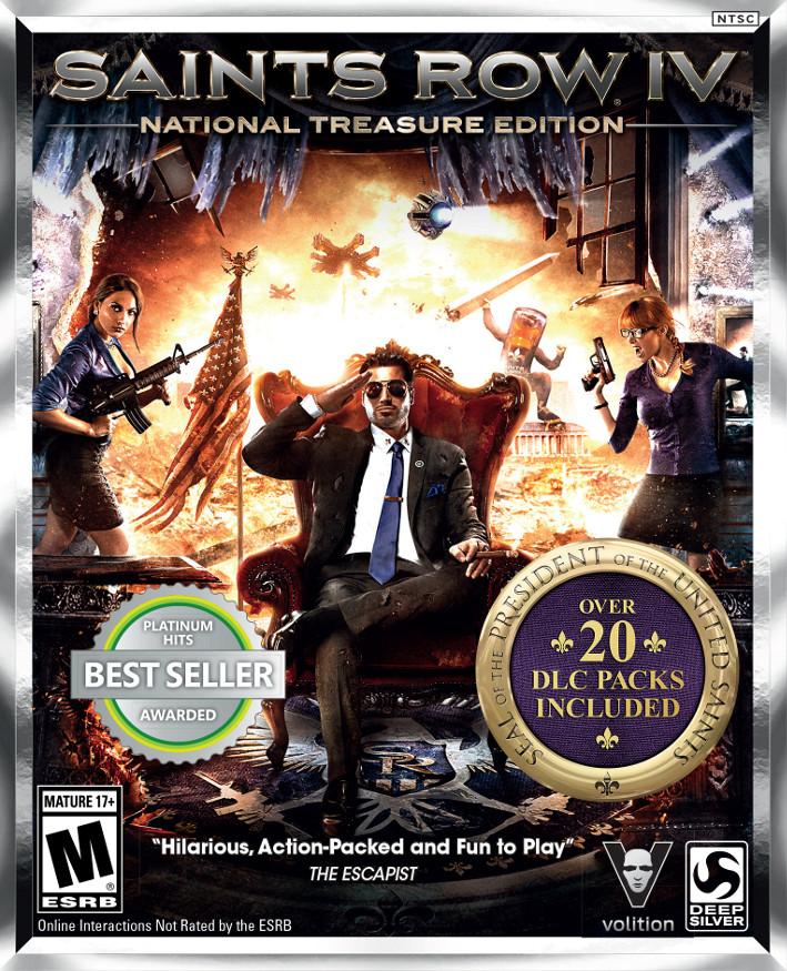 Saints Row 4 National Treasure Edition Viene Con 29 DLC