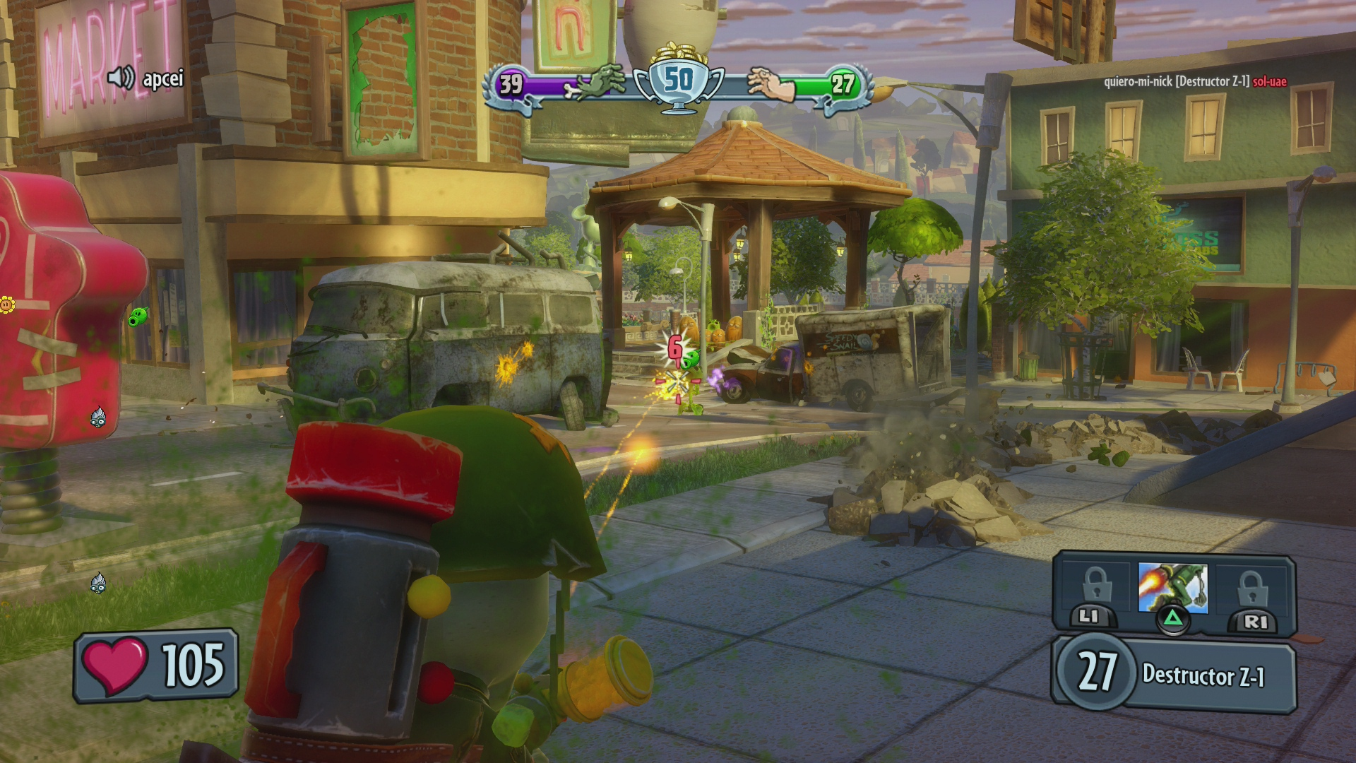 Análisis de Plants vs Zombies Garden Warfare en PS4 - HobbyConsolas ...