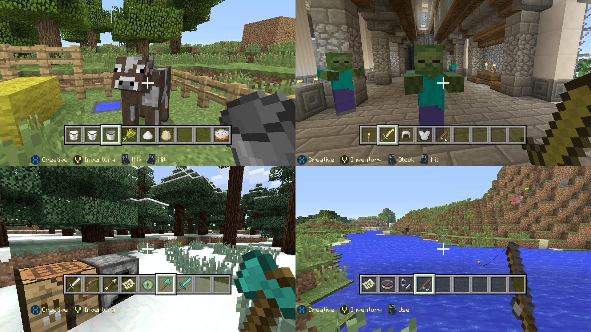 Analisis De Minecraft Para Ps4 Y Xbox One Hobbyconsolas Juegos