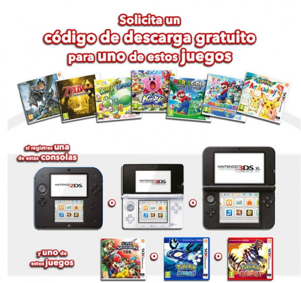 Nintendo Regala Un Juego De 3ds En Su Promocion De Invierno 2014