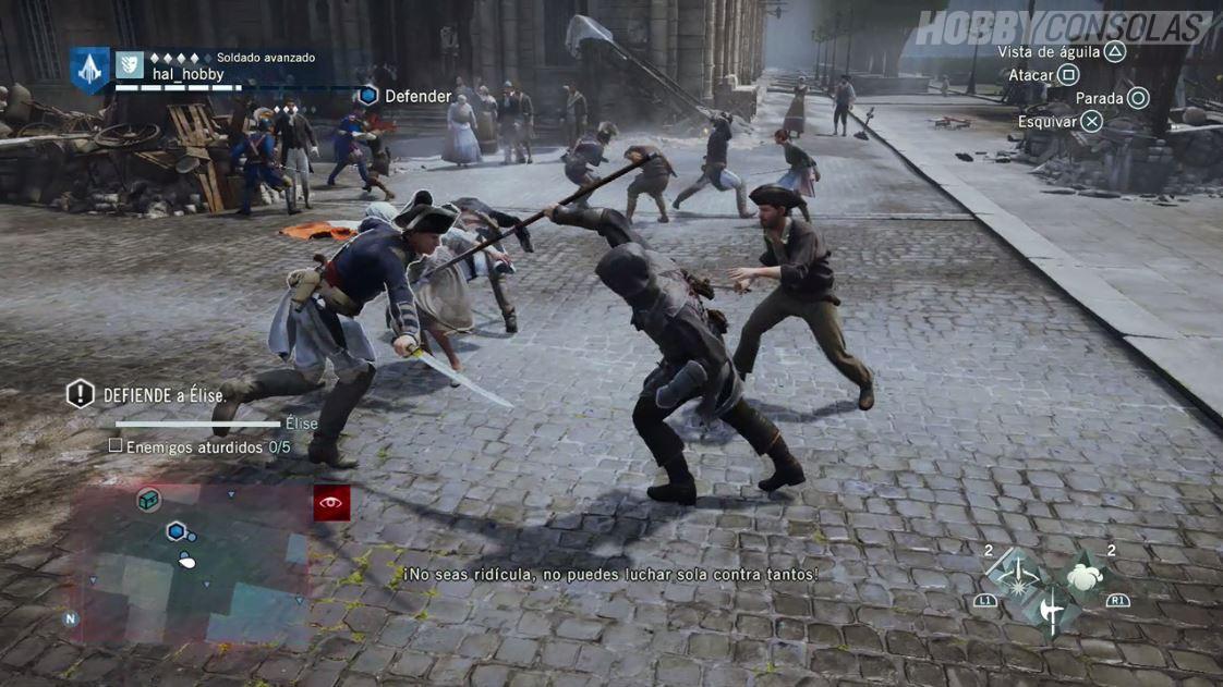 Analisis De Assassin S Creed Unity Hobbyconsolas Juegos