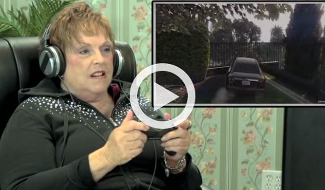 Vídeo: ocho abuelos conducen en Gran Theft Auto V