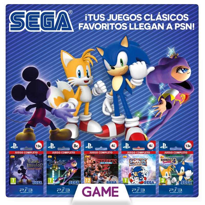 Juegos Clasicos De Sega Para Ps3 A La Venta En Game Hobbyconsolas