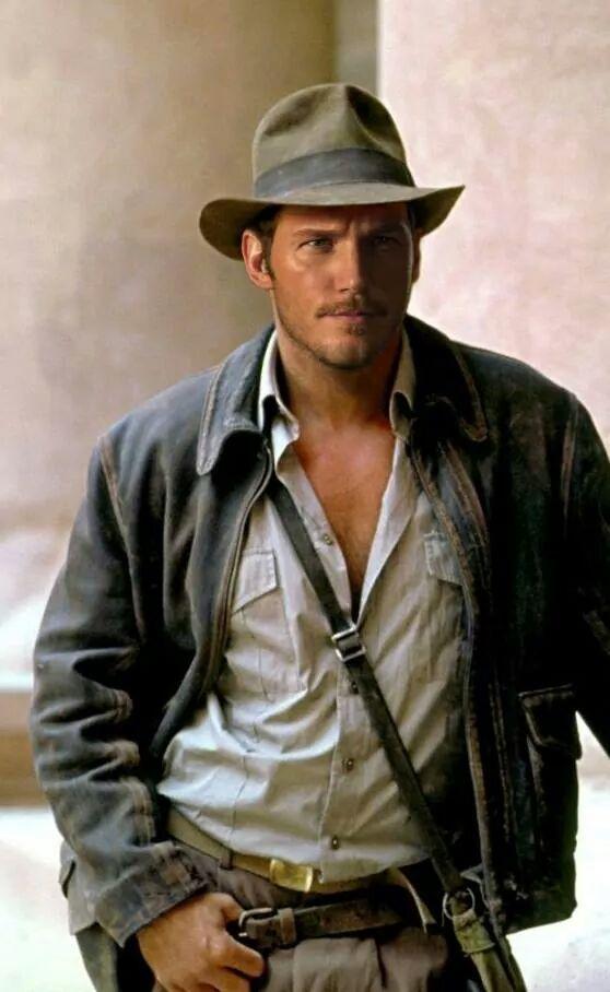Chris Pratt (Star-Lord) podría ser el nuevo Indiana Jones ... 54e2b95264a