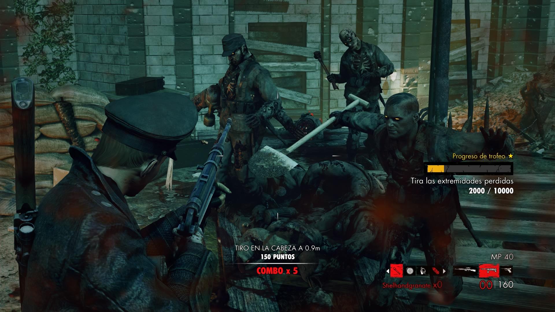 Analisis De Zombie Army Trilogy Hobbyconsolas Juegos