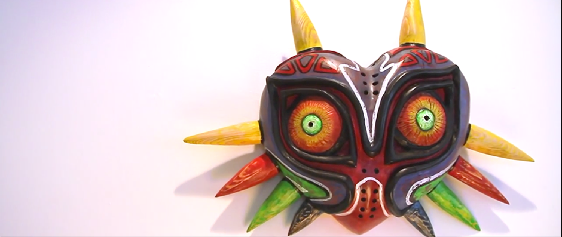 Así se hace la máscara de The Legend of Zelda Majora\'s Mask ...
