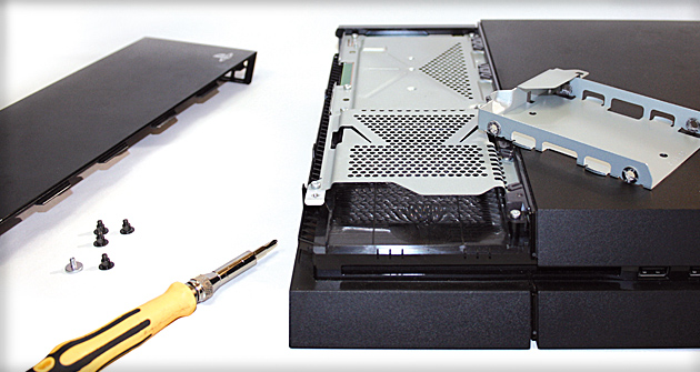 Cómo cambiar el disco duro de PS4