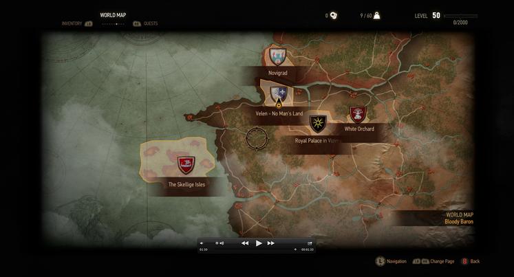 The witcher 3 ensea su mapamundi al completo hobbyconsolas juegos the witcher 3 ensea su mapamundi al completo gumiabroncs Images