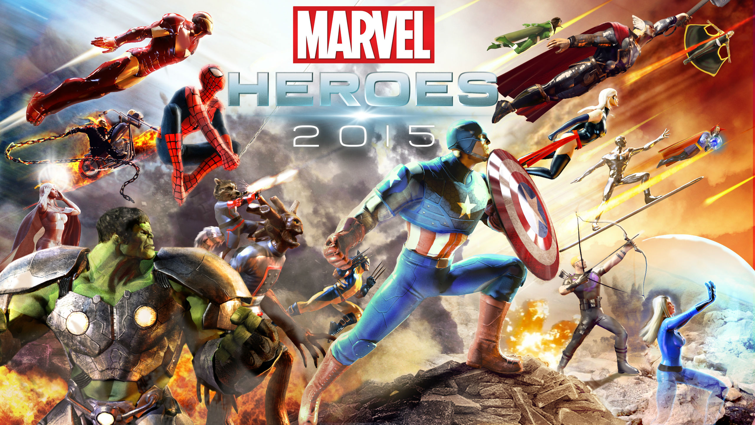 Los Mejores Juegos De Marvel Avengers