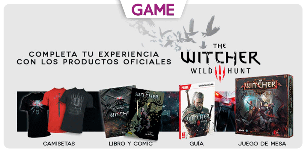 The witcher 3 wild hunt y sus productos oficiales en game for The witcher juego de mesa