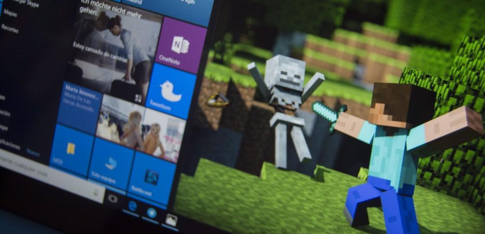Как играть windows 10 minecraft