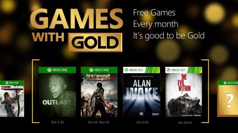 Games With Gold De Octubre Posible Lista De Juegos En Xbox One Y
