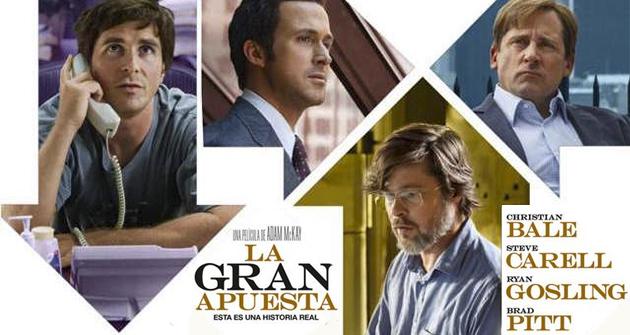 La gran apuesta - Crítica del film de Brad Pitt, Ryan Gosling ...