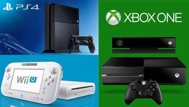 consolas de videojuegos actuales