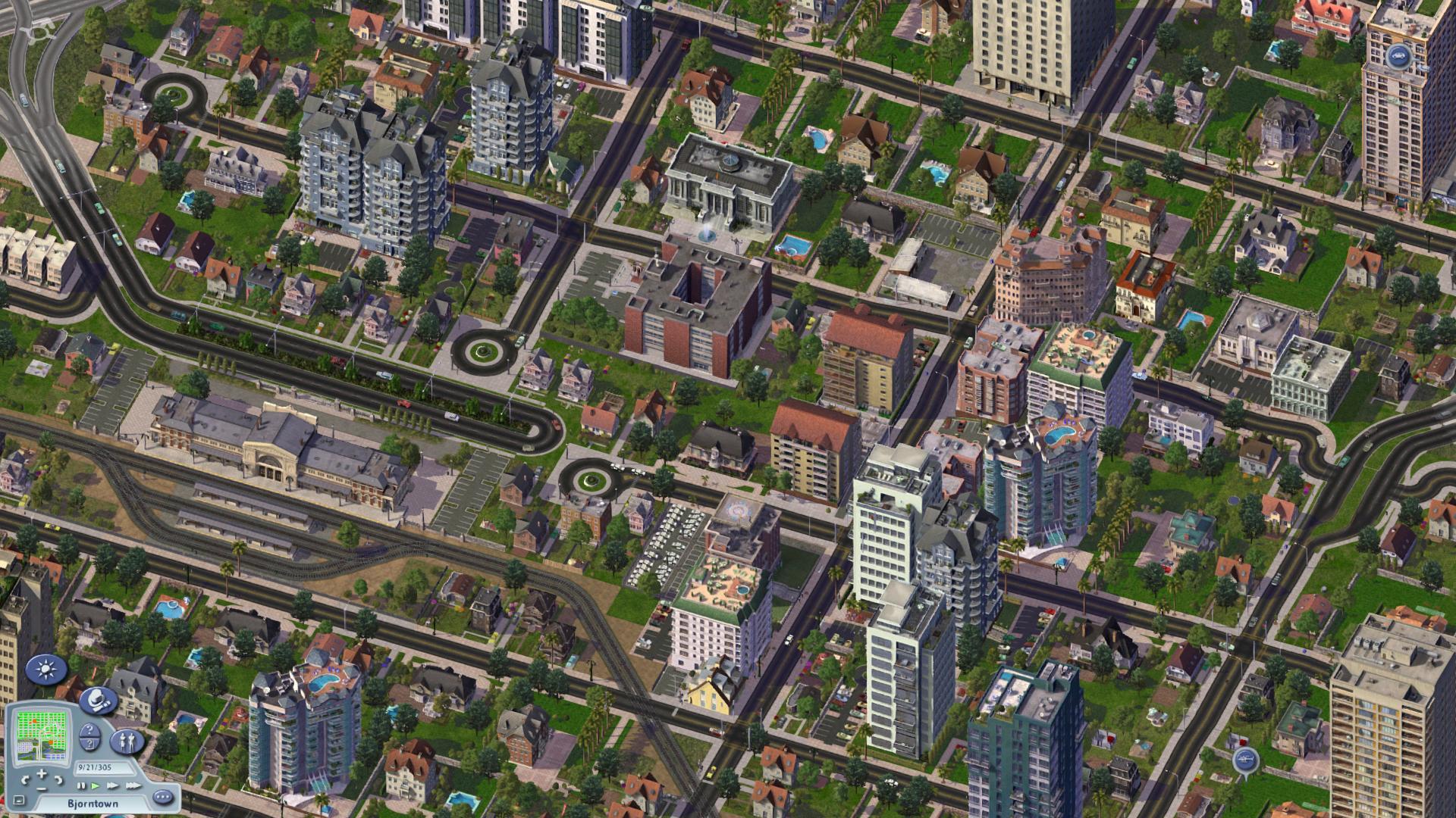 Cities Skylines Park Sketch