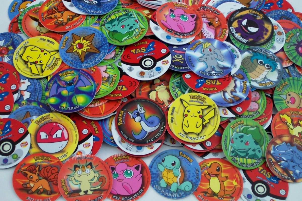 Resultado de imagen para tazos pokemon