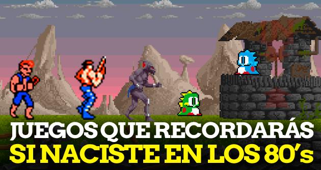 Juegos Que Recordaras Si Naciste En Los 80 Hobbyconsolas Juegos