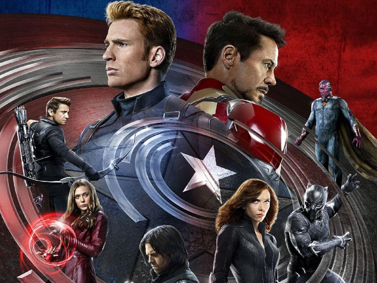 Capitan Marvel Y Los Falsos Vengadores Todo Lo Que: Capitán América: Civil War