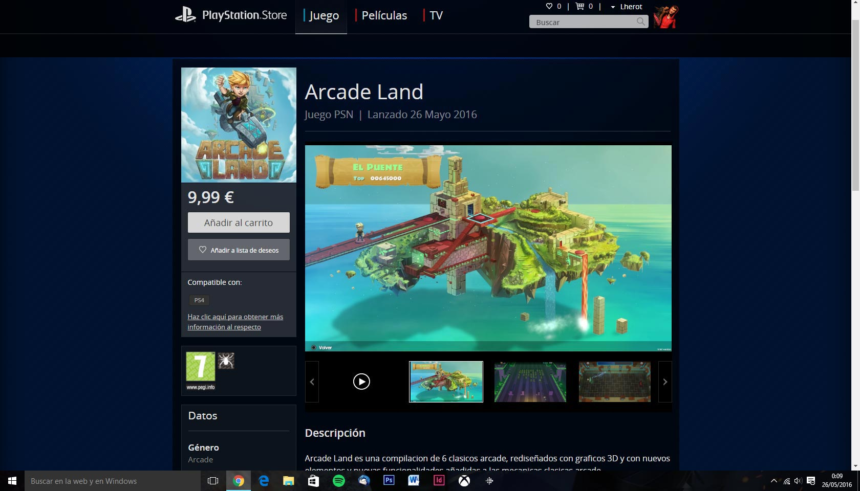 Arcade Land ya disponible