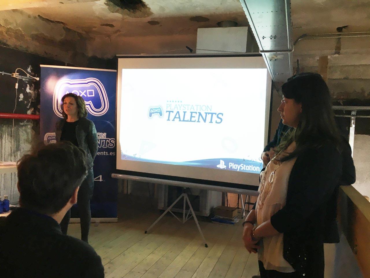 Presentación de Games Camp, Liliana Laporte