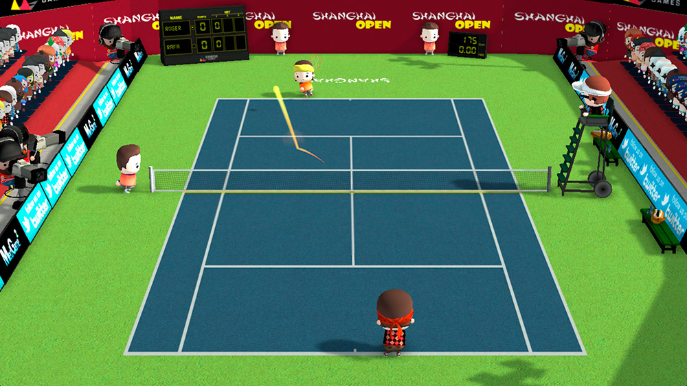 Smoots World Cup Tennis - captura