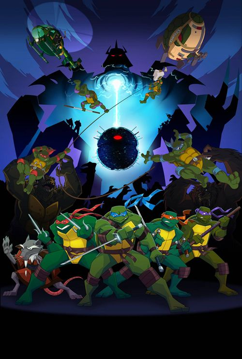 Crossover Tortugas Ninja 1987 -2009