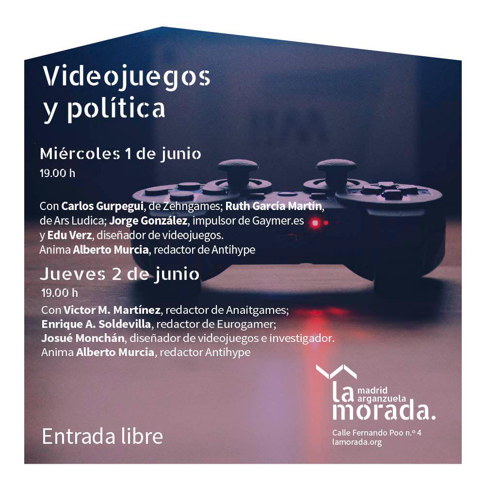 Videojuegos y política - Programa