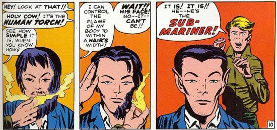 Fantastic Four Namor 1961
