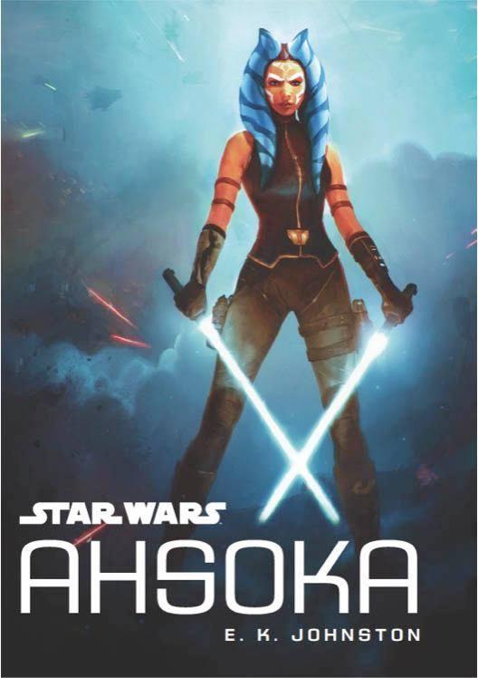 Ahsoka novela juvenil star wars