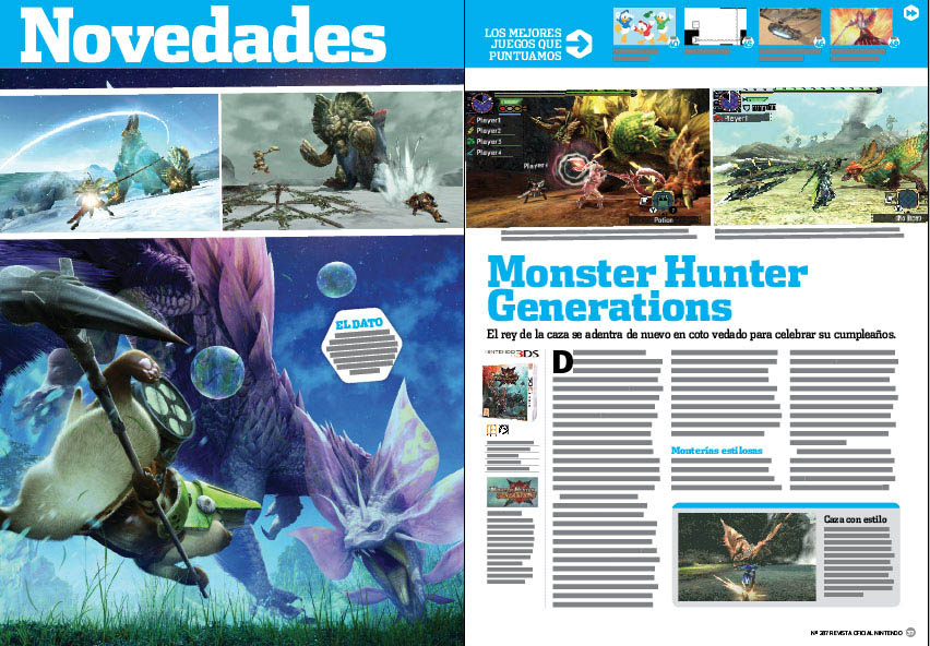 Análisis Monster Hunter Generations
