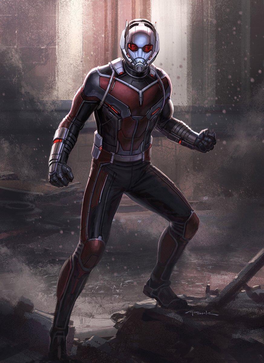 Arte conceptual Ant-Man