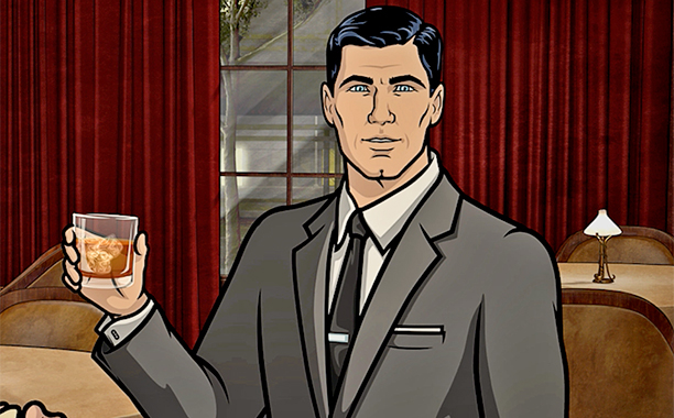 Archer, mejores series de animación para adultos