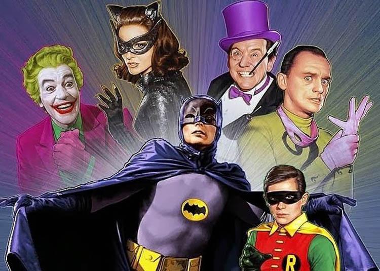 Series de superhéroes Batman del 66