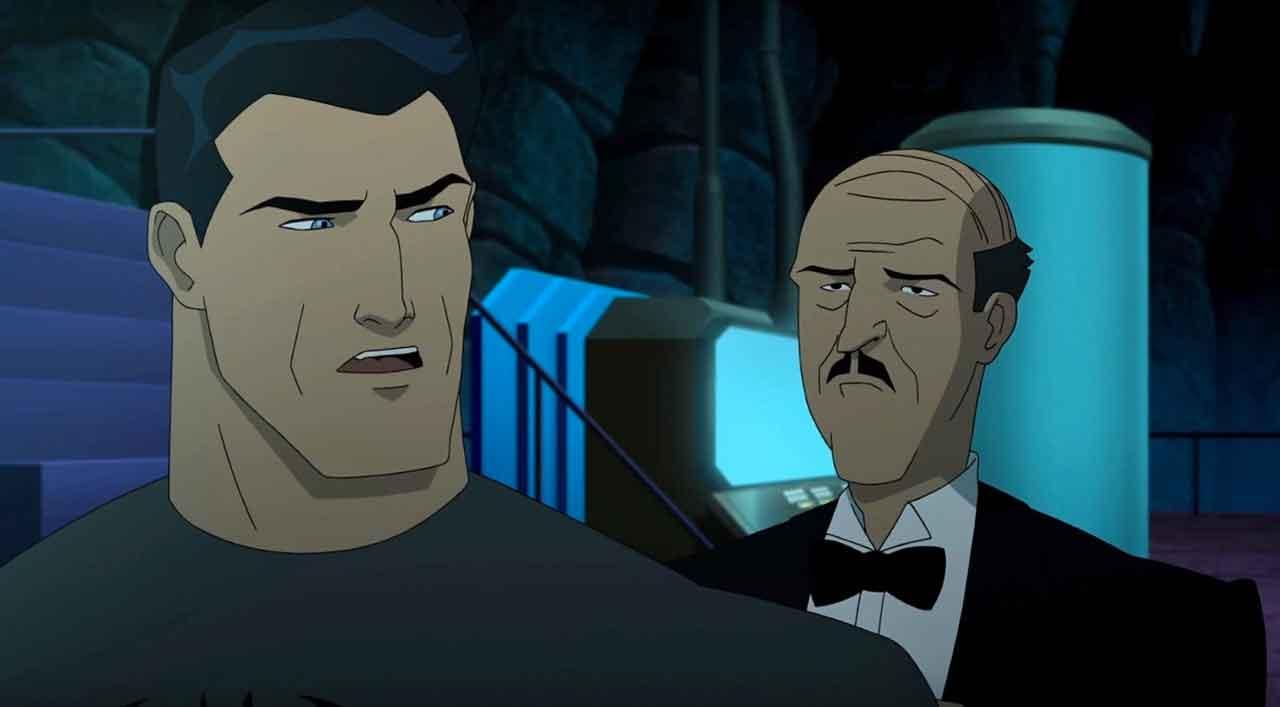 Batman y Alfred en Batman: la broma asesina