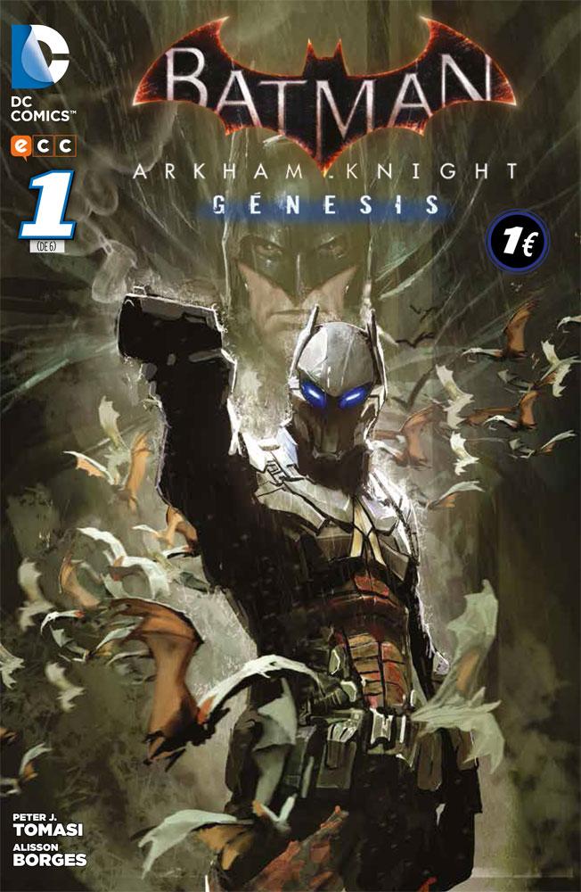 Batman Arkham Knight 1 portada