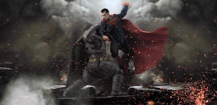 Batman y Superman en Batman v Superman
