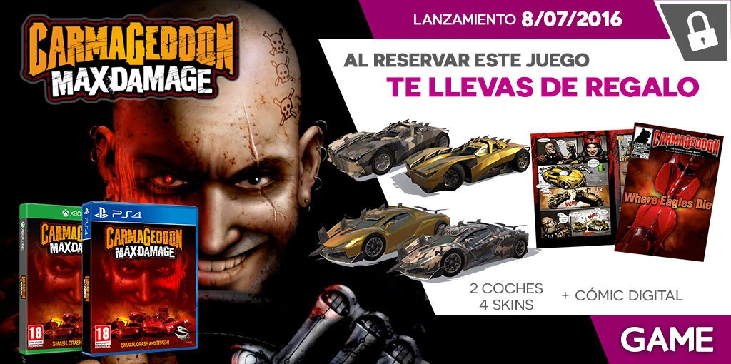 Carmageddon Max Damage en GAME