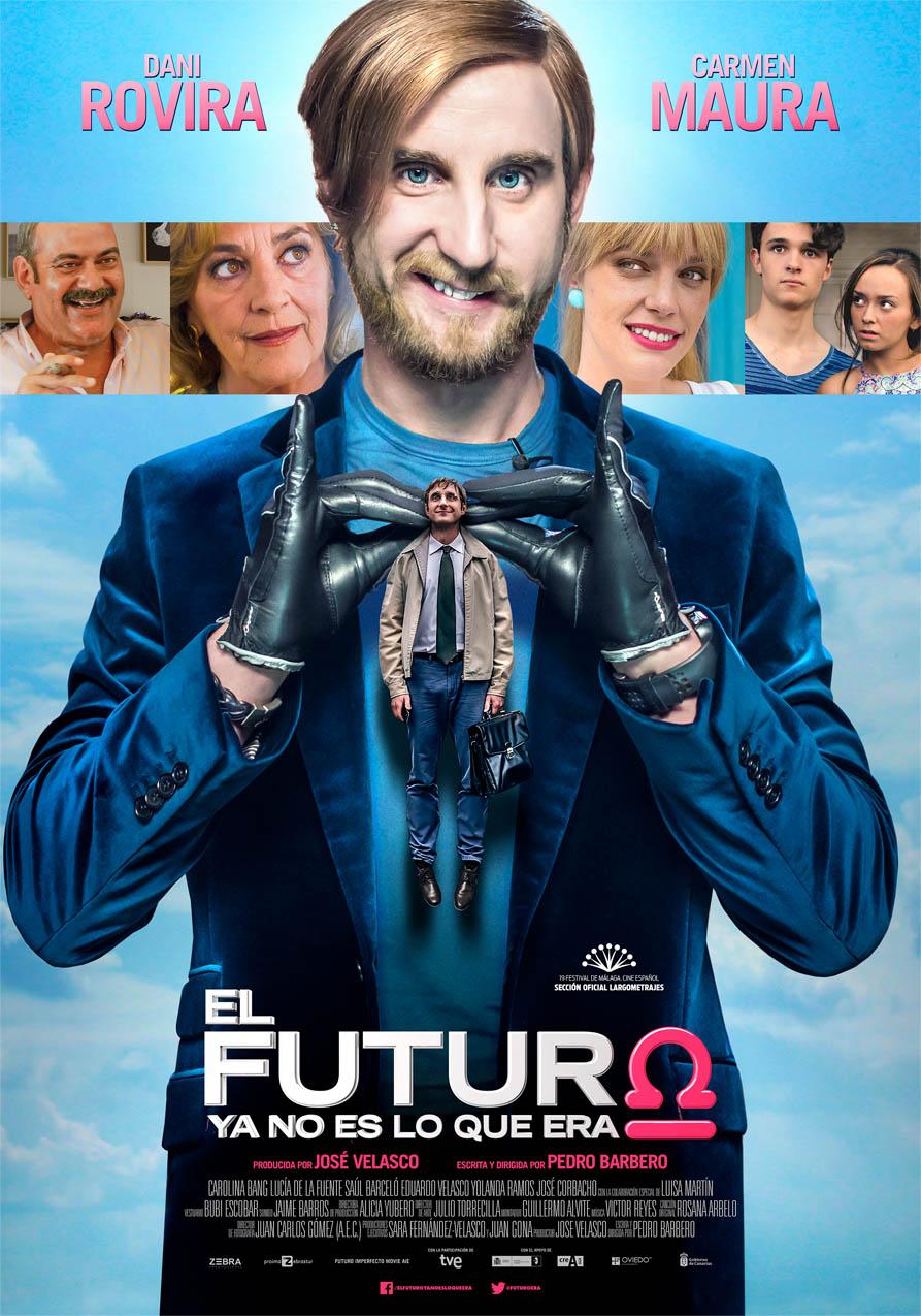 Dani Rovira en El Futuro ya no es lo que era