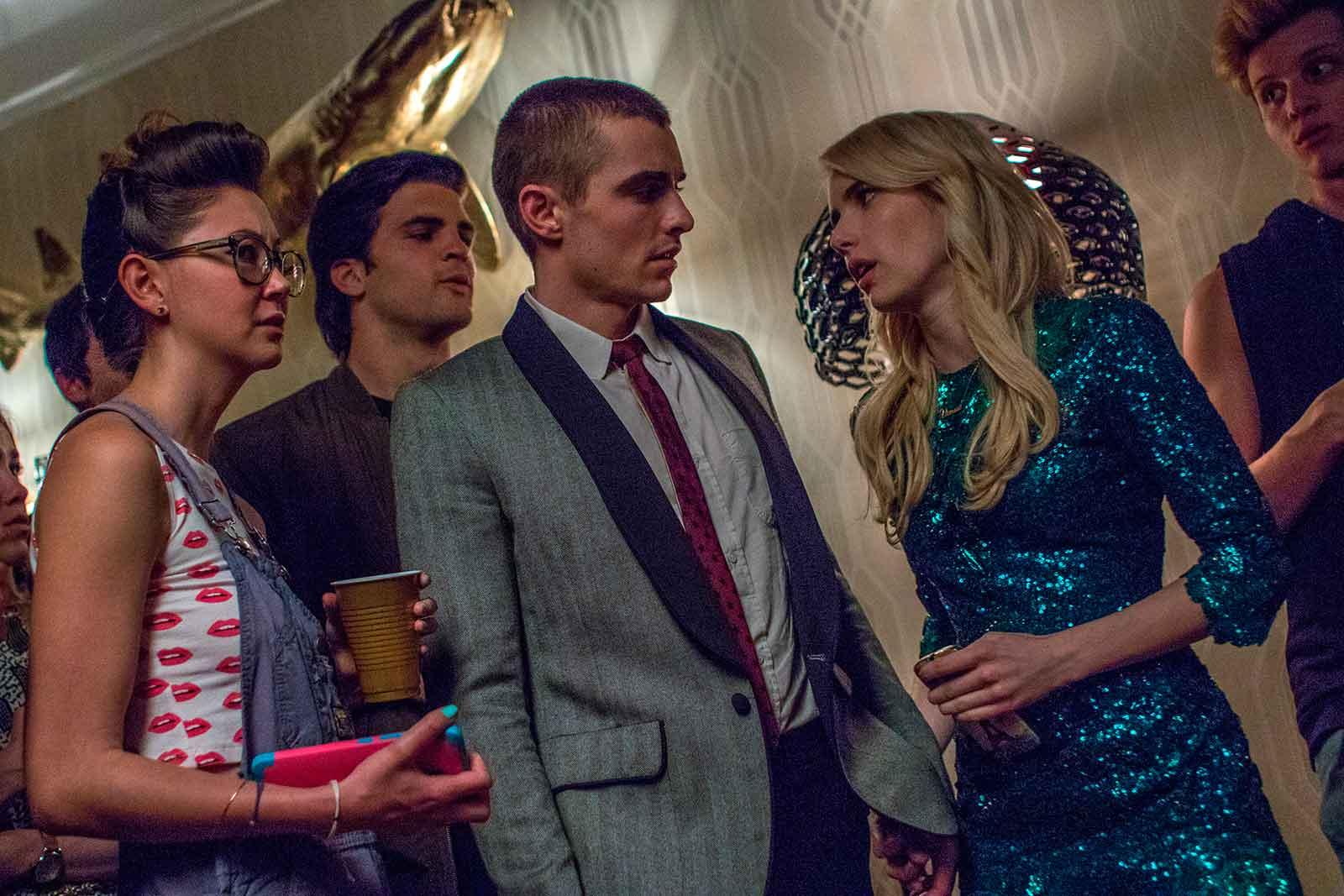 Dave Franco y Emma Roberts en Nerve